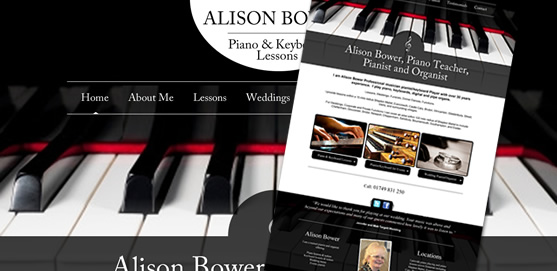 Alison Bower Pianist Website