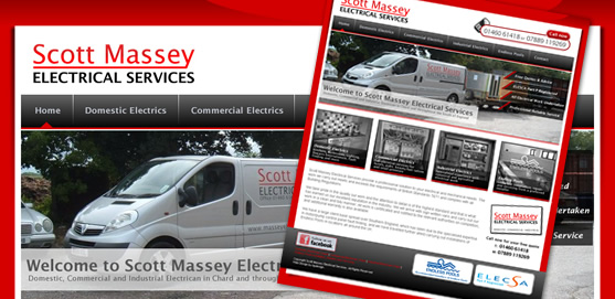 Scott Massey Electrical Services Website